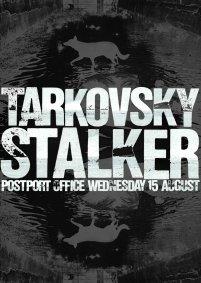 Poster for Tarkovsky's STALKER, screened at the POSTPORT OFFICE, Newport.
